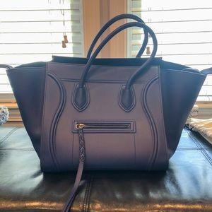 Authentic Celine Luggage Phantom Calfskin Bag
